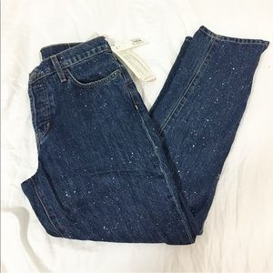 Current Elliott vintage straight jeans